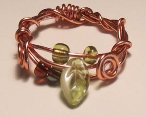 Leafy Vine Ring